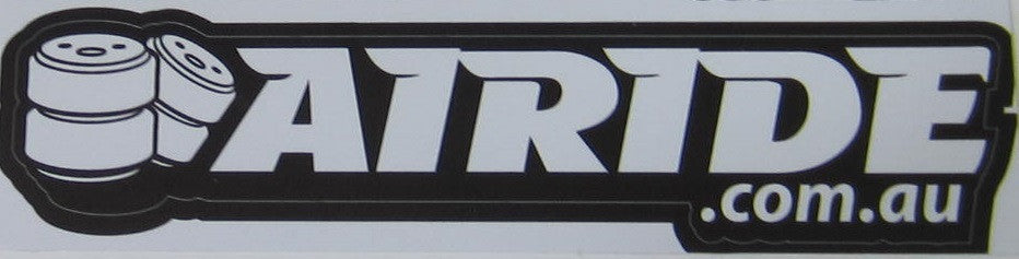 Airide Stickers Straight (Various Sizes & Colours Avaliable)