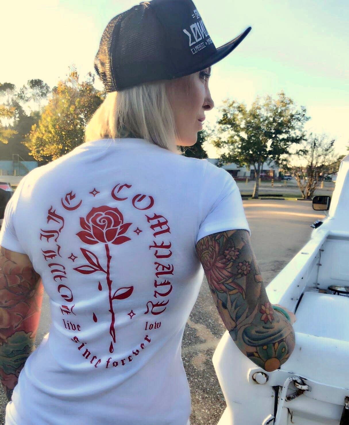 Ladies LowLife Rose Tee