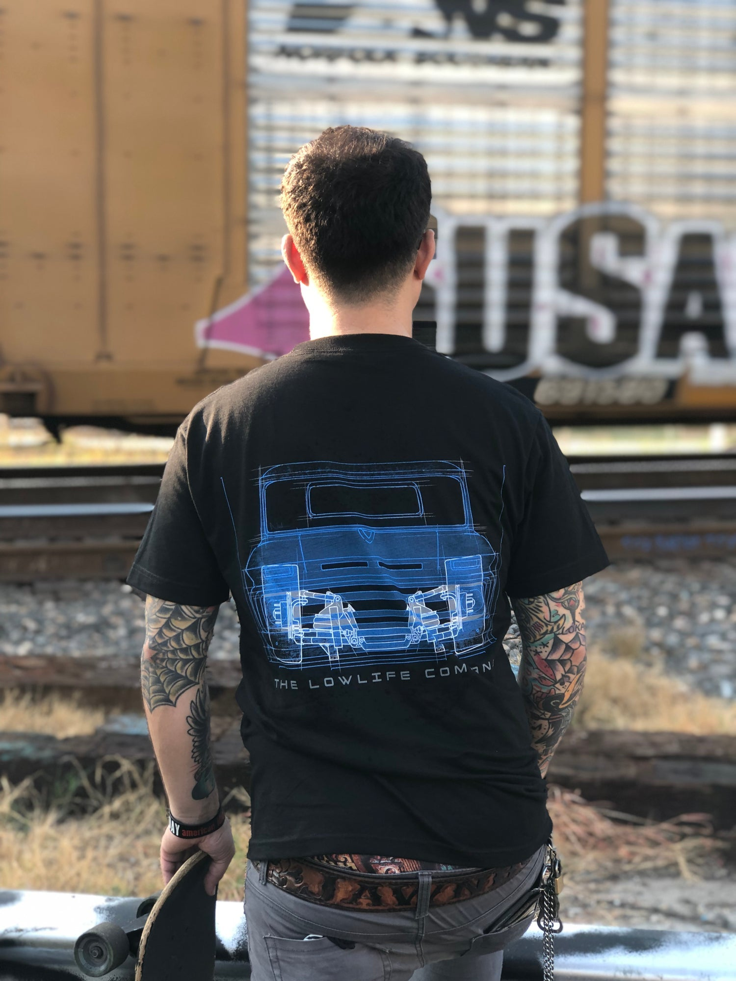 LowLife C10 Blueprint Tee