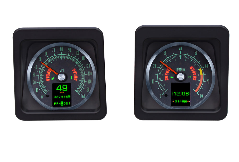 Dakota Digital Retro 1969 Chev Camaro MTX  Instrument Dash