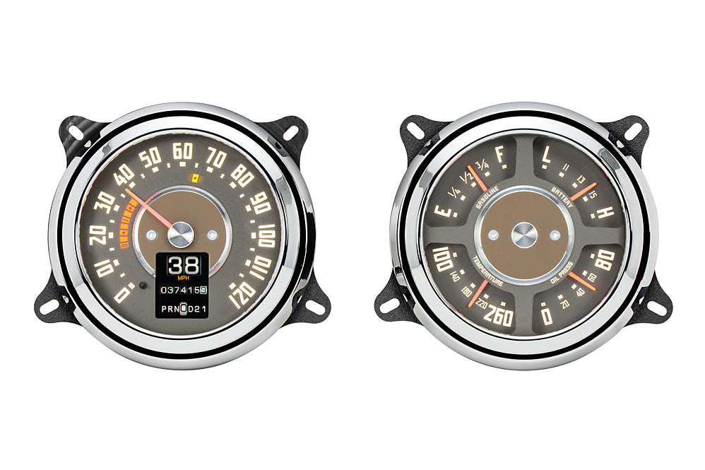 Dakota Digital Retro 1947-53 Chev/GMC Pickup MTX  Instrument Dash