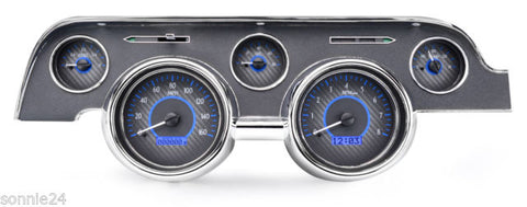 1967- 68 Ford Mustang VHX KM/H Instruments