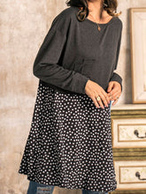 Load image into Gallery viewer, Polka Dots Appliqued Casual Cotton-Blend Shirts & Tops Tunics
