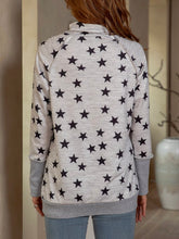 Load image into Gallery viewer, Cotton Long Sleeve Turtleneck Sweatshirt