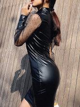 Load image into Gallery viewer, Black Sexy Long Sleeve Dresses