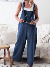 Load image into Gallery viewer, Pockets Casual Solid Jumpsuits