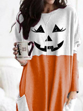 Load image into Gallery viewer, Women's Halloween Fun Printed Casual Long Sleeve T-Shirt
