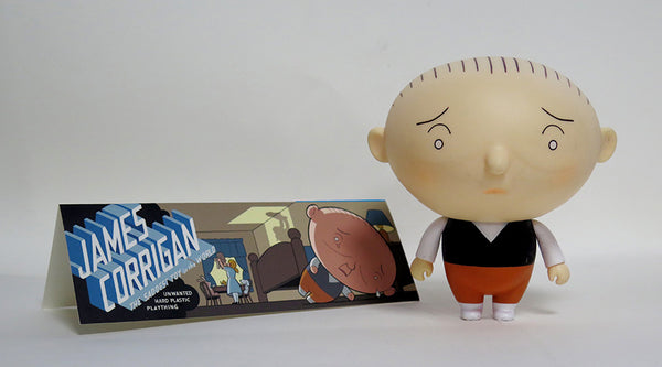 "クリス・ウェア ""Jimmy Corrigan  Vital Animus Vinyl Doll"" ソフビ"