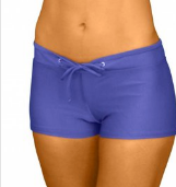 HOT PANT BOTTOM- VIOLET BLUE