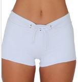 HOT PANT BOTTOM- WHITE