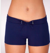HOT PANT BOTTOM- NAVY