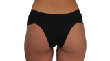 BUTTERFLY BOTTOM- BLACK