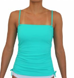 BANDEAU TANKINI-SEA GREEN