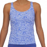 SCOOP TANKINI- WAVES