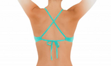 SPORT TIE TOP- SEA GREEN