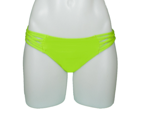 SCOOP WITH BRAID BOTTOM- LIME