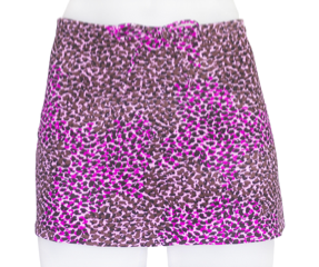 DRAWSTRING SKIRT- PINK PANTHER