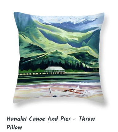 MARK ART- HANALEI CANOE & PIER