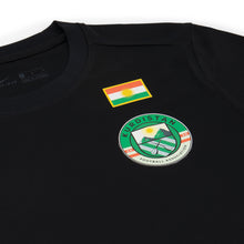 Load image into Gallery viewer, Kurdistan-Shirt-Black-Football-Detail