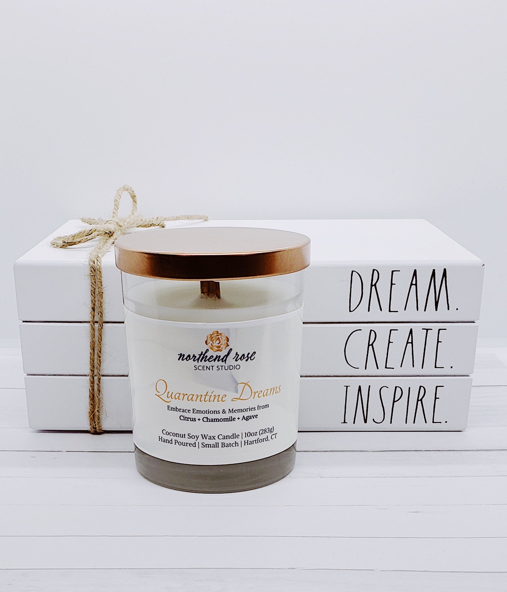Quarantine Dreams 10oz Coconut Soy Candle | Core Collection