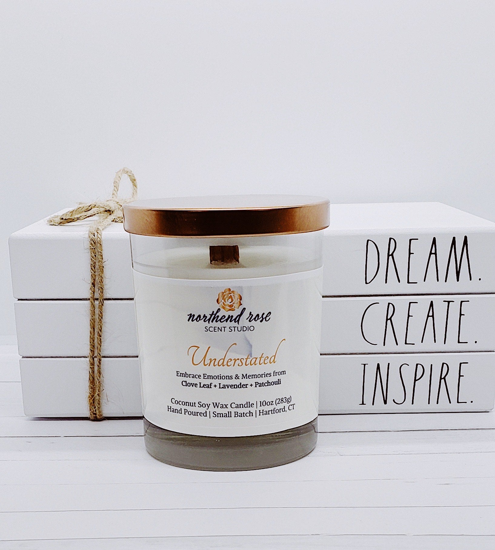 Understated 10oz Coconut Soy Candle | Core Collection