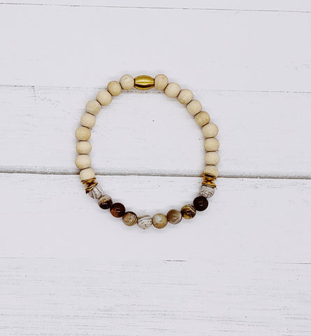 Ladies Agate Diffuser Bracelet | Aromatherapy Jewelry