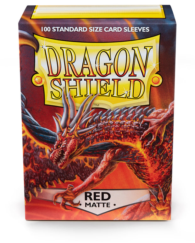 Dragon Shield 100 Standard Matte Card Sleeves