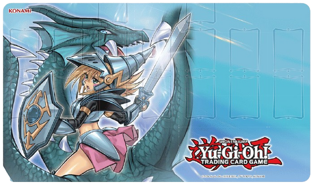 YU-GI-OH! DARK MAGICIAN GIRL THE DRAGON KNIGHT GAME MAT (PRE-ORDER 3/5/2021)