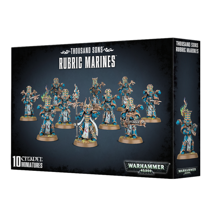 Wh40k: Thousand Sons Rubric Marines