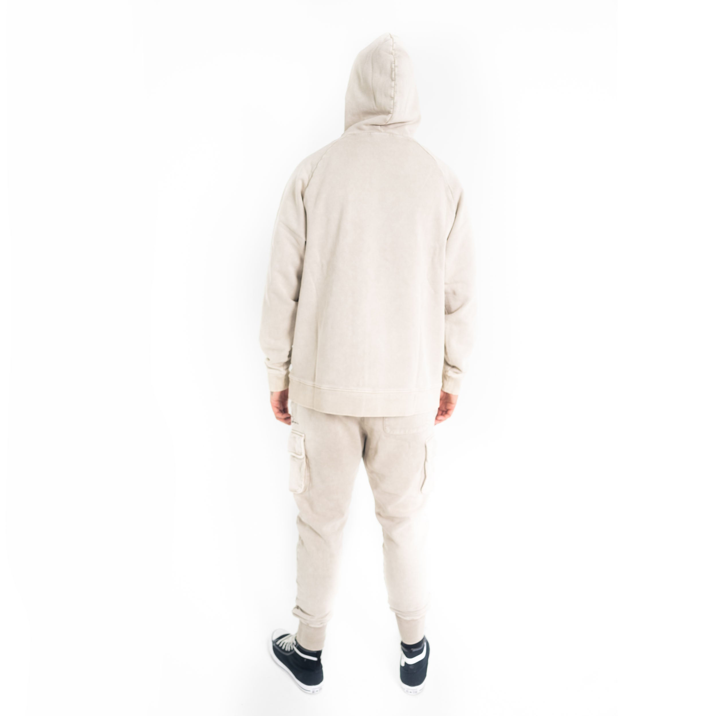 Signature Washed Utility Jogger Grey-FUBU