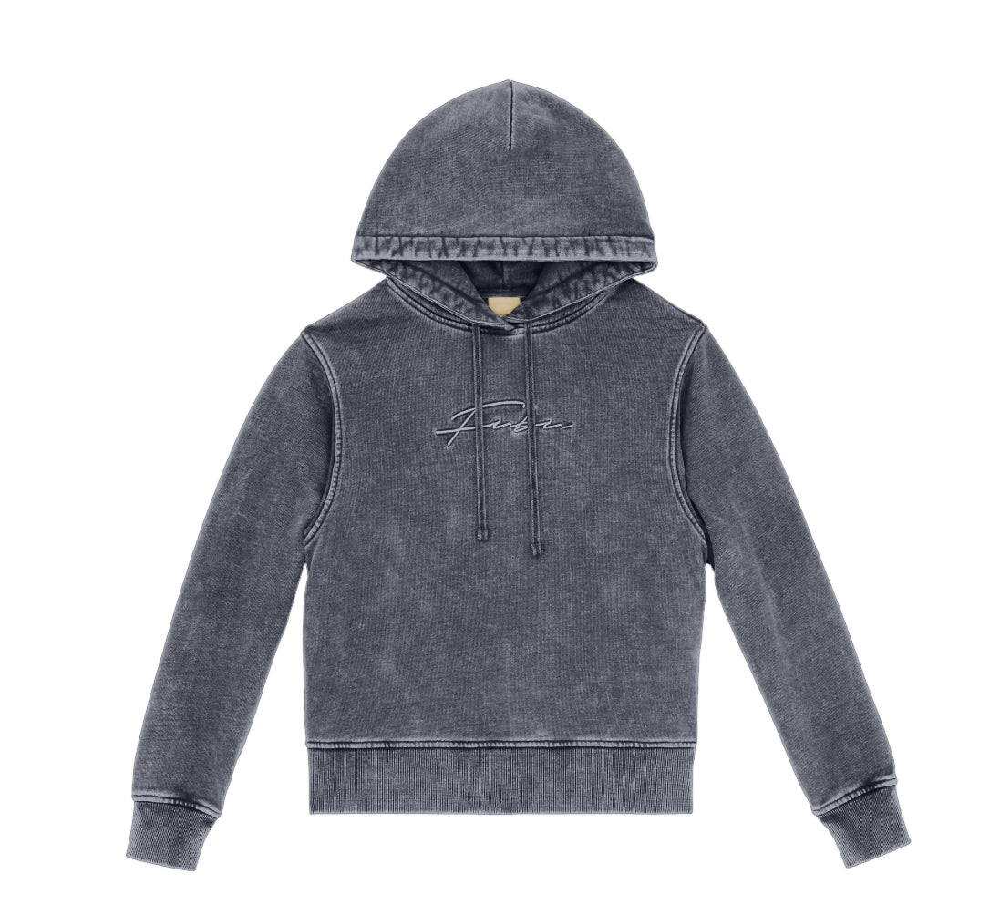 Signature Washed Hoodie Queen-FUBU