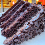 TALL, DARK & HANDSOME CAKE SLICE