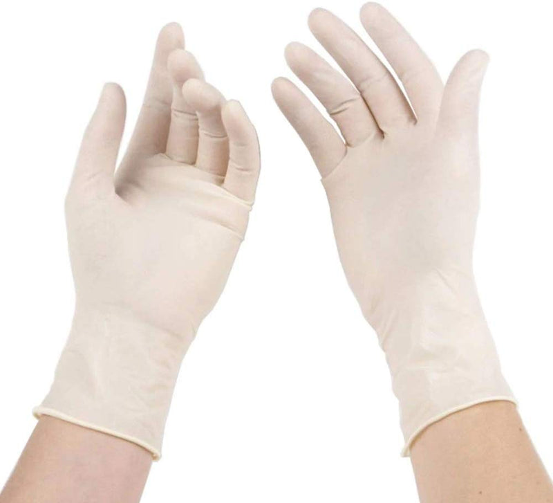 Latex Gloves (Powder-Free) | Size: L
