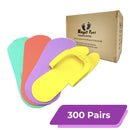 Disposable Pedicure Foam Slipper | Unfolded (300 Pairs/Case)