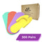 Disposable Pedicure Foam Slipper | Unfolded