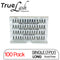 TrueLash Knot-Free Eyelash Extensions | 7-Ply, Single | 100-Pack