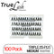 TrueLash Knot-Free Eyelash Extensions | 15-Ply, Triple | 100-Pack