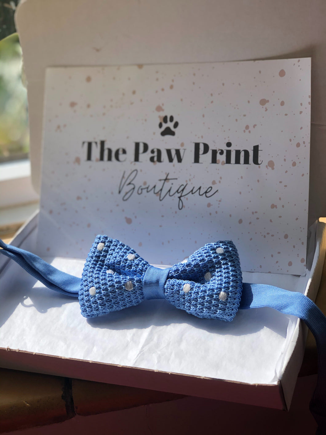 The Blue-Sky Bow Tie