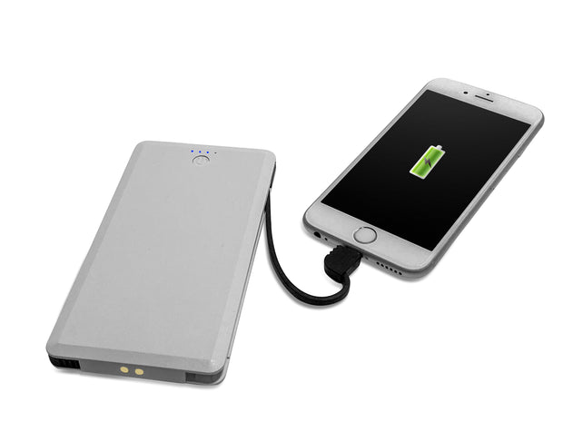 FoneSaver Power Bank charging iPhone