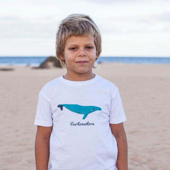 Camiseta Ballena - Mojo Art Shop