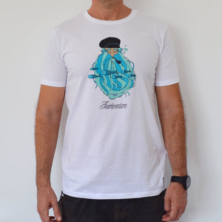 Camiseta Barbudo - Mojo Art Shop