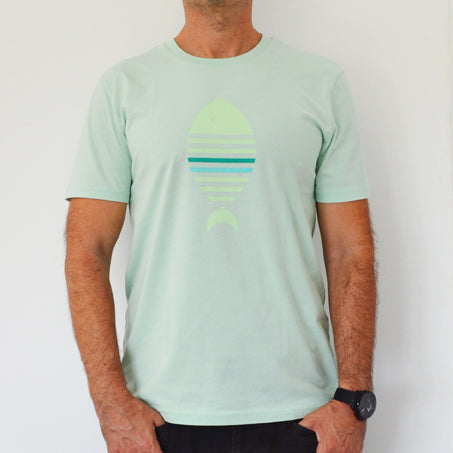 Camiseta Pez Verde - Mojo Art Shop