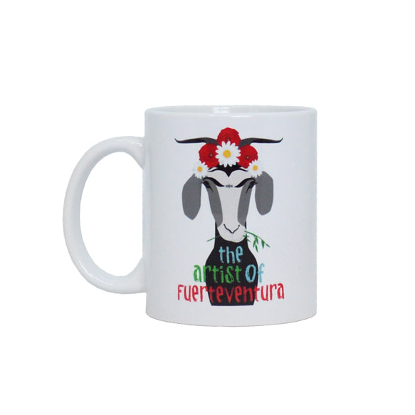 Taza Cabra Frida - Mojo Art Shop