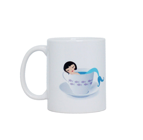 Taza Sirena - Mojo Art Shop
