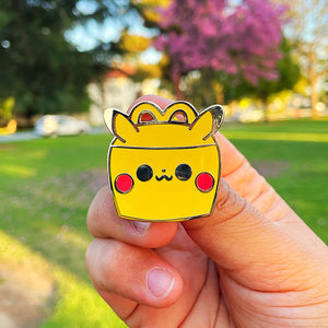 Pika Happy Meal Pin