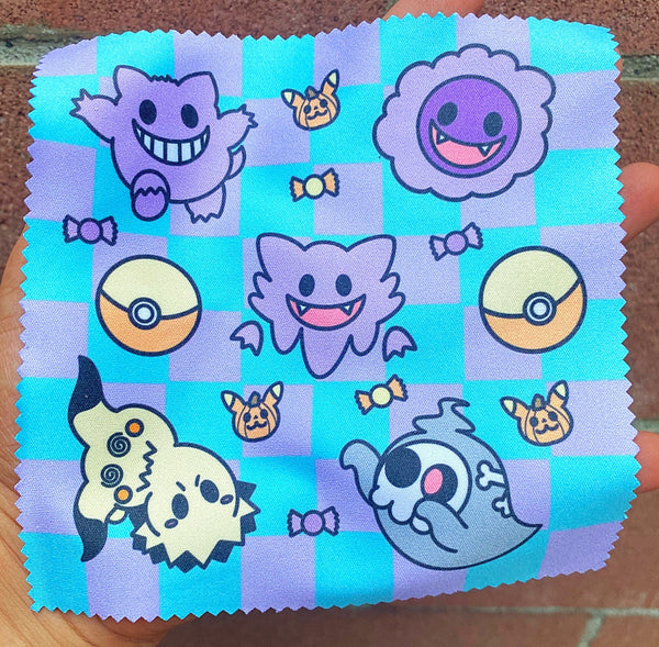 Ghost microfiber cloth