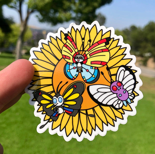 Butterflies Vinyl Sticker
