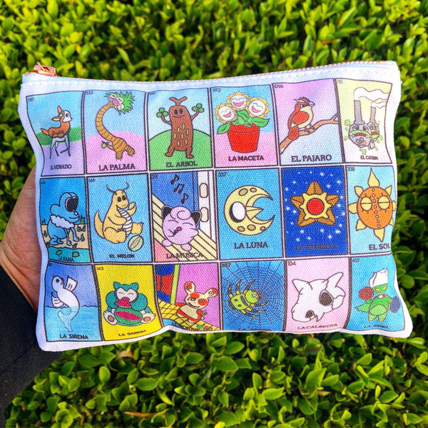 Loteria zipper bag