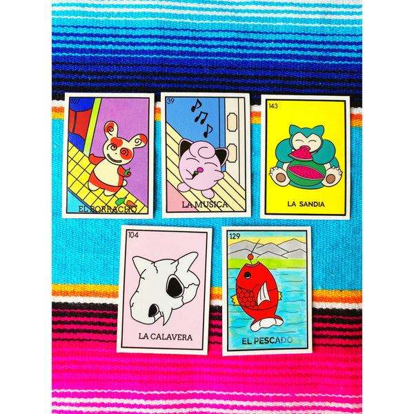 Loteria Stickers