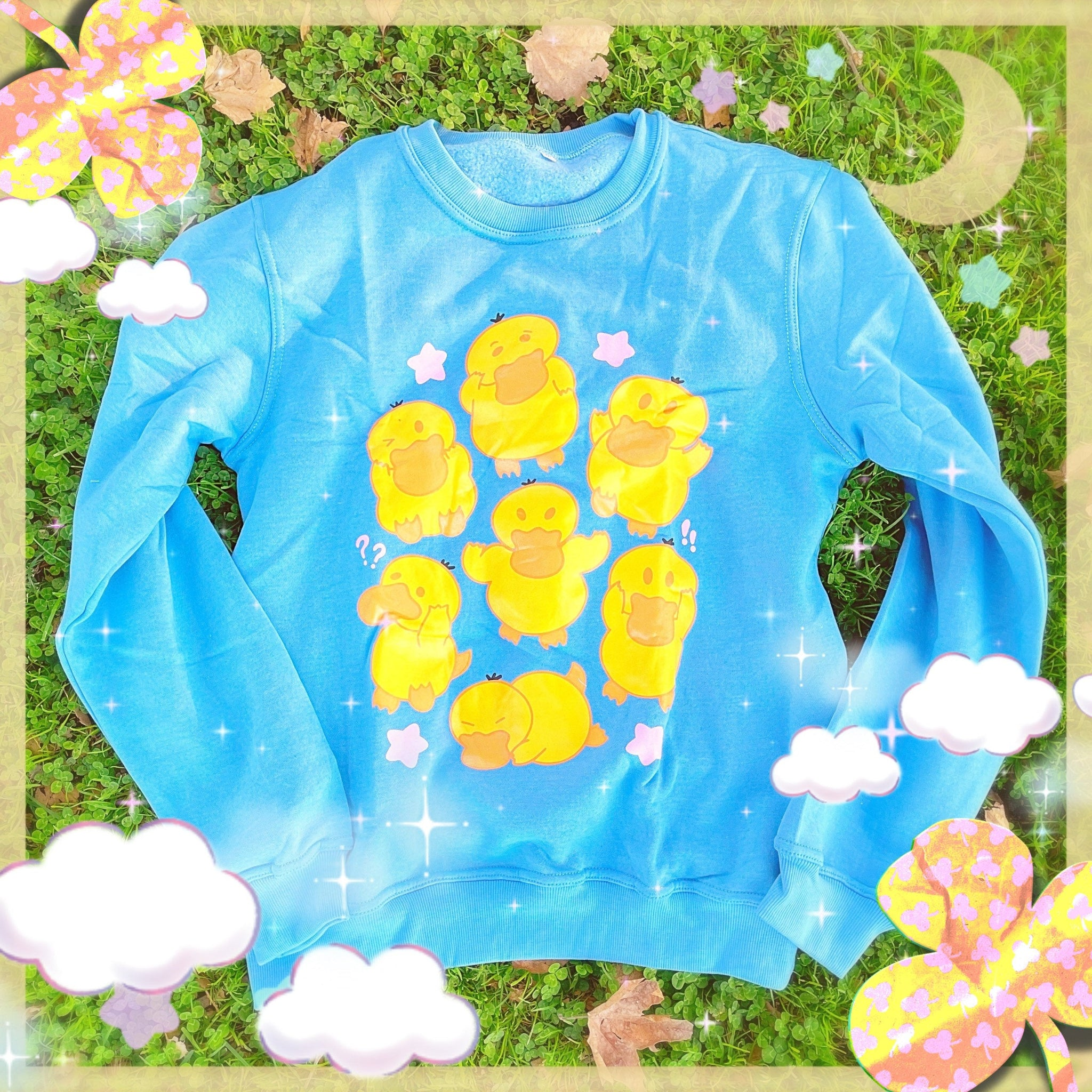Psyduck Ducky Sweater